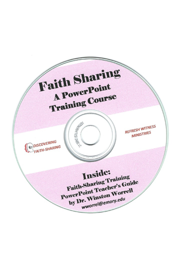 Faith-Sharing CD-ROM